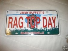 rag-top-day-jimmy-buffett-license-plate_1_bd502488ed3cff275b82397350de8e0c