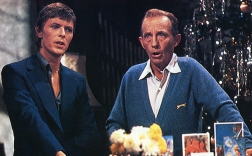 Photo of Bing CROSBY and David BOWIE