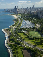 green-light-collection-aerial-view-of-a-city-lake-shore-drive-lake-michigan-chicago-cook-county-illinois-usa