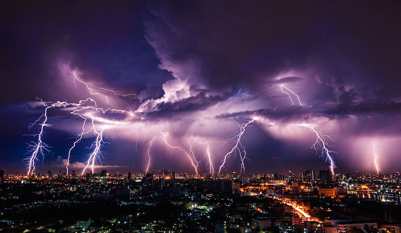 lightning-over-city