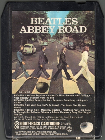 1 Abbey road white apple